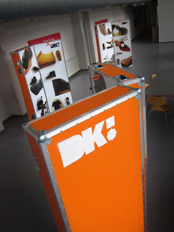 Just Add Design cases - ECCO My Shoe exhibition